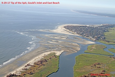 7253---9-29-17 Tip of the Spit Gould's Inlet  East Beach
