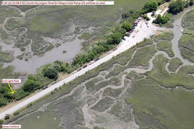 village creek boat ramp