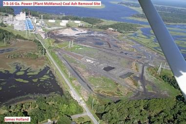 9588---7-5-16 Plant McManus Coal Ash Removal Site